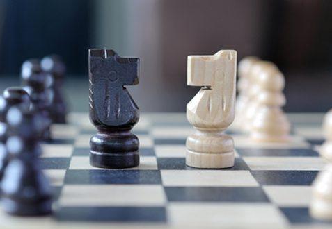 Chess game negotiation skills