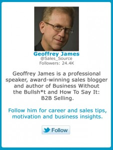 Geoffrey James