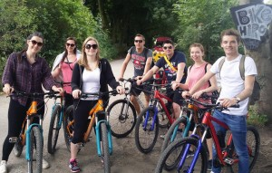 Bridgewater-bikeride