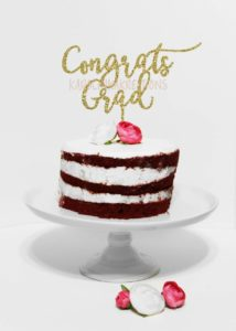 Graduation cakes cake topper