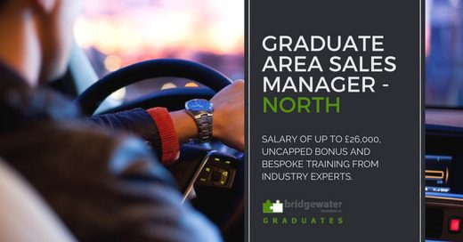graduate sales jobs north