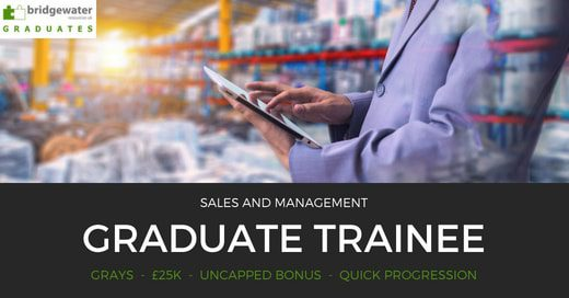 graduate sales jobs grays