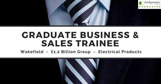 graduate sales jobs wakefield